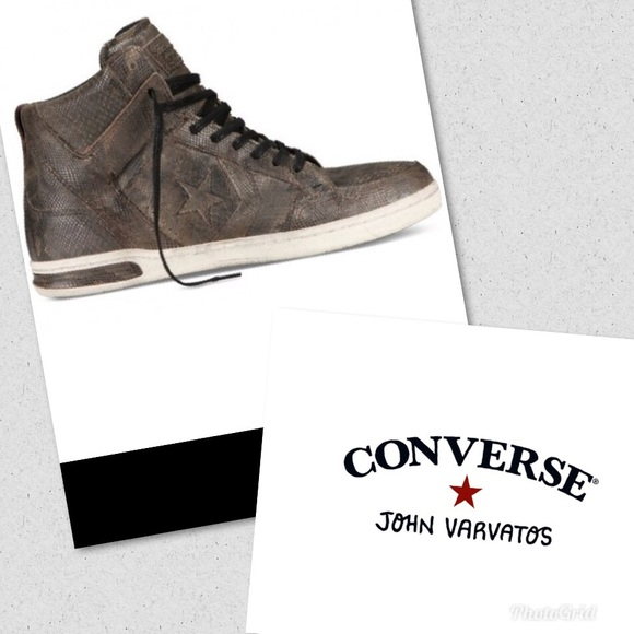 "Converse Shoes - Converse X by John Varvatos Jv ""Weapon"" high tops c7147c3d0"